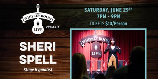 Sheri Spell - Stage Hypnotist