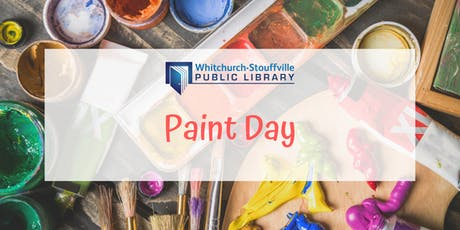 Paint Day (ages 13+) tickets