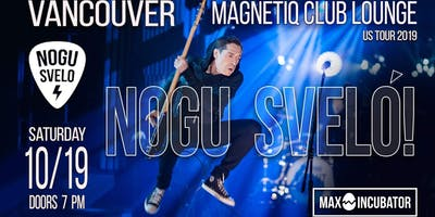 Nogu Svelo! Party Rock - Live at Magnetic Club Lounge
