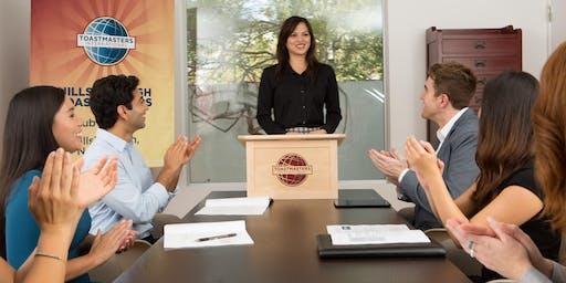 Public speaking skills @ Swavesey Speakers: Toastmasters International