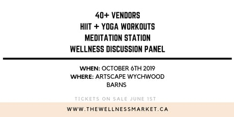 The Wellness Market 2019 tickets
