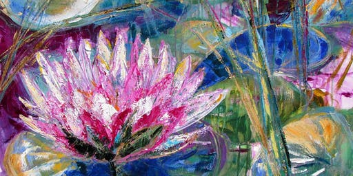 Outdoor painting/mindfulness/art workshop: Landscape, Waterlilies