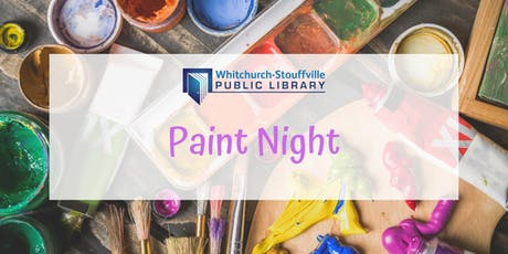 Paint Night (ages 13+) tickets