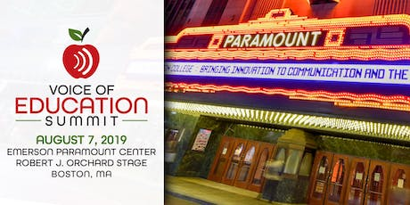 The Voice of Education Summit tickets