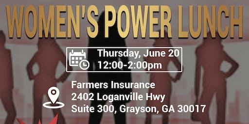 Women's Power Lunch