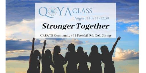 Qoya: Stronger Together