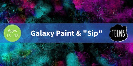 "Galaxy Paint & ""Sip"" tickets"