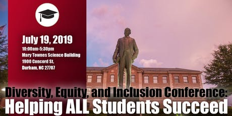 NCCU DEI Conference: Helping ALL Students Succeed  tickets