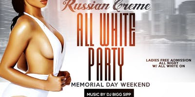 RUSSIAN CREME ALL WHITE PARTY