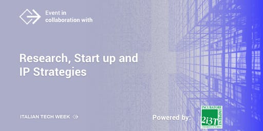 Research, Start up and IP Strategies