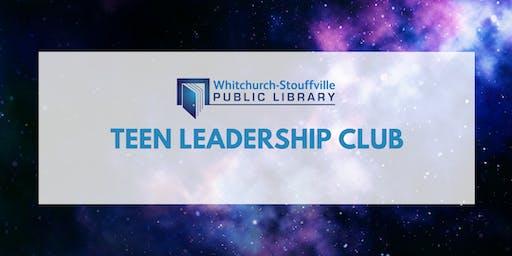 Teen Leadership Club