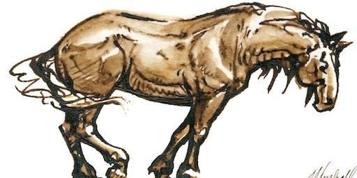 Horse Sketching Part 2