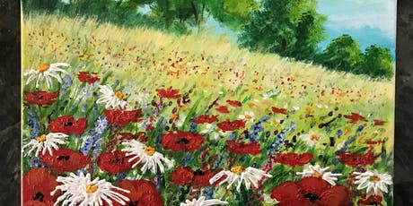 Create Day Floral Painting 3pm tickets