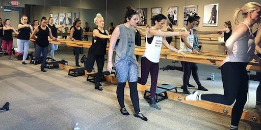 Pure Barre fitness pop up!