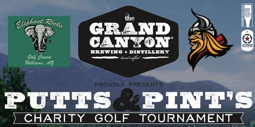 GRAND CANYON BREWERY AND DISTILLERY PUTTS & PINTS CHARITY GOLF TOURNAMENT