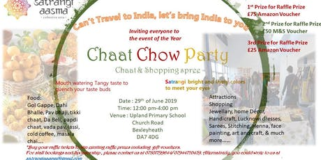 ChaatChowParty-2019 tickets