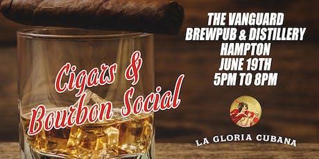 La Gloria Cubana Cigars and Bourbon Social tickets