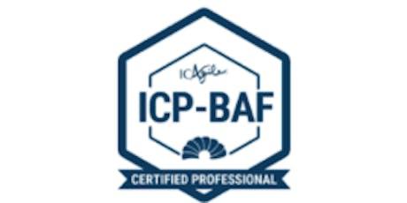 Business Agility Foundations (ICP-BAF)  tickets