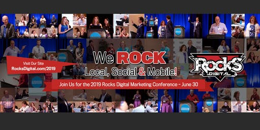 Rocks Digital Marketing Conference 2019