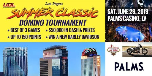 Universal Domino League Presents The Las Vegas Summer Classic Domino Tournament