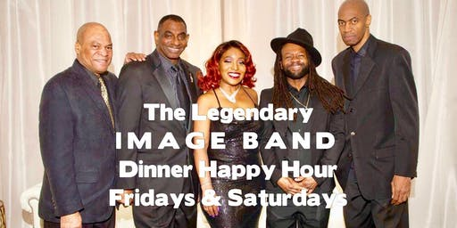 The legendary IMAGE BAND Sunset Dinner Party Saturdays in DownTown Silver Spring MIX BAR & GRILL