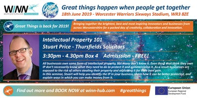 Intellectual Property 101; Stuart Price - Thursfields Solicitors