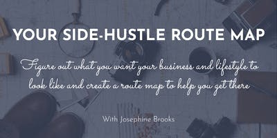 Your Side-Hustle Route Map | 4th October | Oak Tree Barn, Somerset