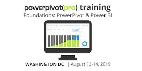 Foundations: Power Pivot and Power BI - DC 2019 tickets