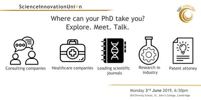 Where can your PhD take you? Meet. Explore. Talk.