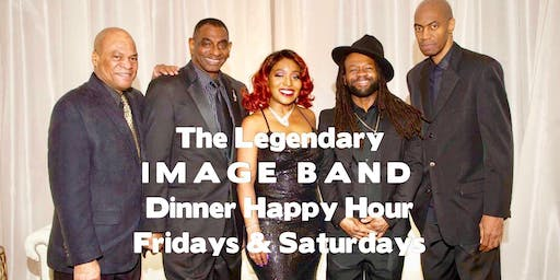 The legendary IMAGE BAND Sunset Dinner Happy Hour Fridays in DownTown Silver Spring's MIX BAR & GRILL