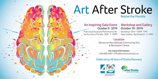 Art After Stroke Gala Event - 2019