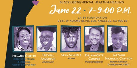 Giants Fall: Black LGBTQ Mental Health & Healing tickets