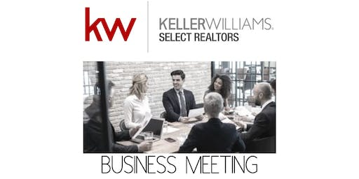 Business Meeting - August 2019