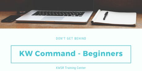 KW Command for BEGINNERS - August 2019 tickets