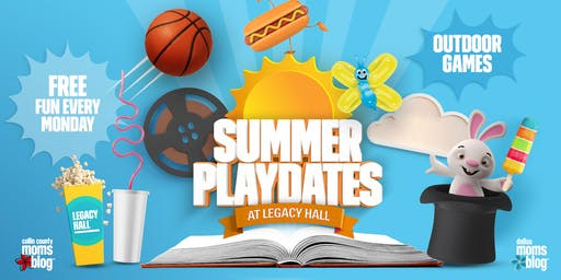 Summer Playdates | Free Dinomania Show at Legacy Hall