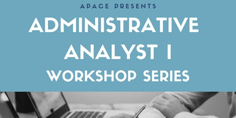 2019 APACE's AAI Workshop Series 2.0 tickets