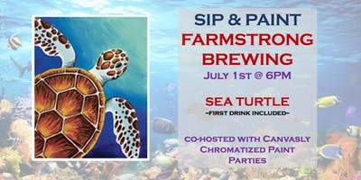 Sea Turtle Paint&Sip @ Farmstrong
