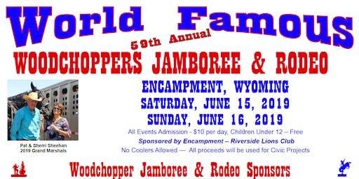 59th Annual Woodchopper's Jamboree & Rodeo