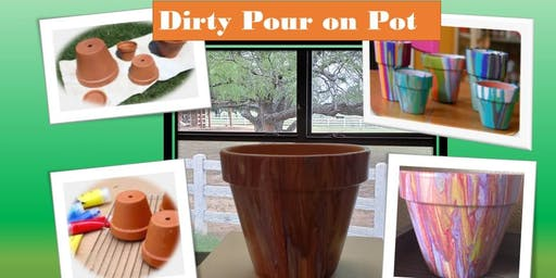 Dirty Pour on a Pot