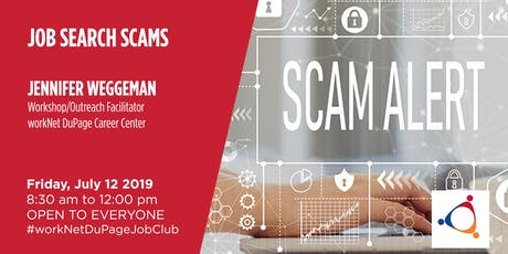 Don't Get Slammed By Job Scams tickets