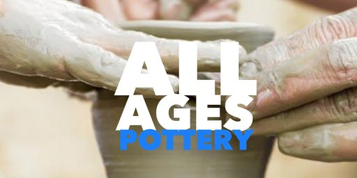 All Ages Pottery Saturday!