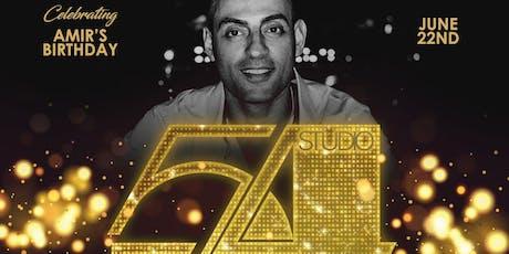 Amir's Studio 54 Birthday Bash tickets