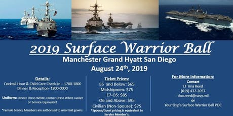 Surface Warrior Ball 2019 tickets