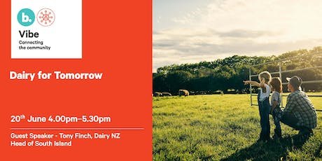VIBE Event -  Dairy for Tomorrow tickets