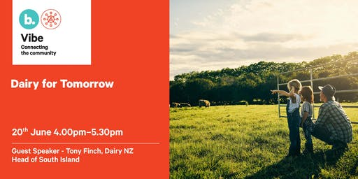 VIBE Event -  Dairy for Tomorrow