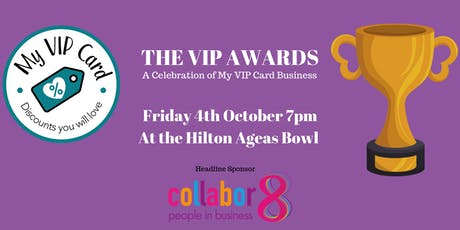 The VIP Awards 2019- A celebration of Hampshire Businesses! tickets