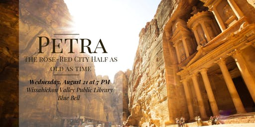 Petra: The Rose-Red City Half as Old as Time