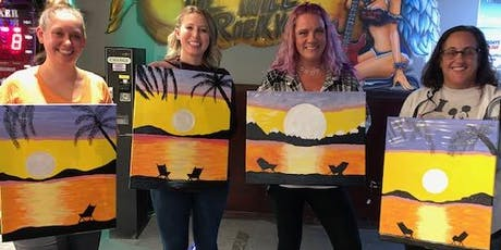 BYOB - Sitting on the Beach - Paint 'N Sip tickets