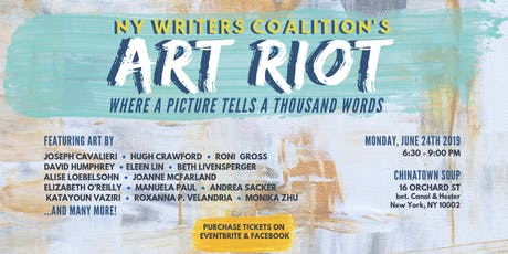 NY Writers Coalition Art Riot tickets
