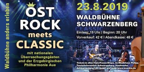 Ostrock meets Classic // Waldbühne anders erleben Tickets